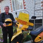 <b>Двухколесный путешественник. Воронежский пенсионер ездит на скутере за тысячи километров</b>