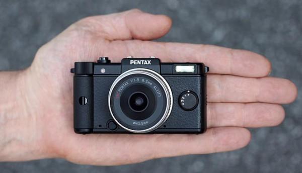 Фотоаппарат реально маленький