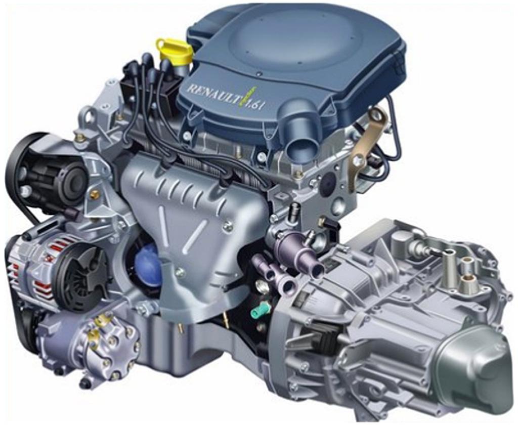 двигатель renault duster 1.6 л 16 клапанов