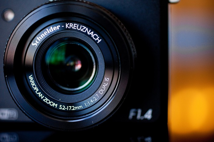 Samsung EX2F Smart Camera. Photo: Ariel Zambelich/Wired